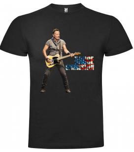 Bruce Guitar Camiseta Manga Corta