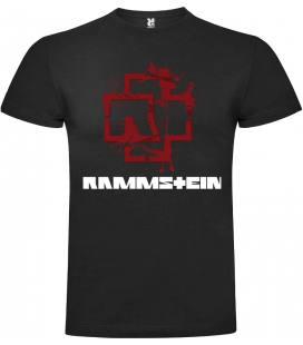 Rammstein Logo Camiseta Manga Corta