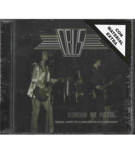 Sirena de metal (Demos, directos e inéditas en sus comienzos. Edición ampliada y oficial) - OBÚS