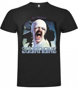 Scorpions Blackout Camiseta Manga Corta
