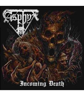 Incoming Death. Black LP & Poster
