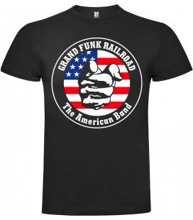Grand Funk Railroad Logo Camiseta Manga Corta