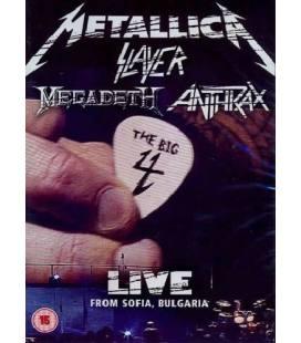 Big4 - Metallica, Slayer, Megadeth, Anthrax