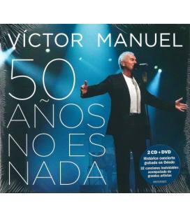 50 Años No Es Nada. (En Directo) (2 CD+ 1 DVD)