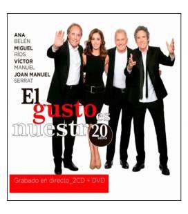 El Gusto Es Nuestro 20 Años. (En Directo) 2 CD+ DVD