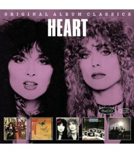 Original Album Classics.International Artwork Version (5 Cds) - Heart