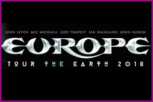 "Europe Tour ""The Earth 2018"""