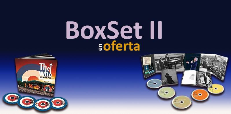 Boxset II. Selección de cajas en oferta