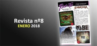 Revista nº8 Enero 2018. Toda la información de tu tienda de música