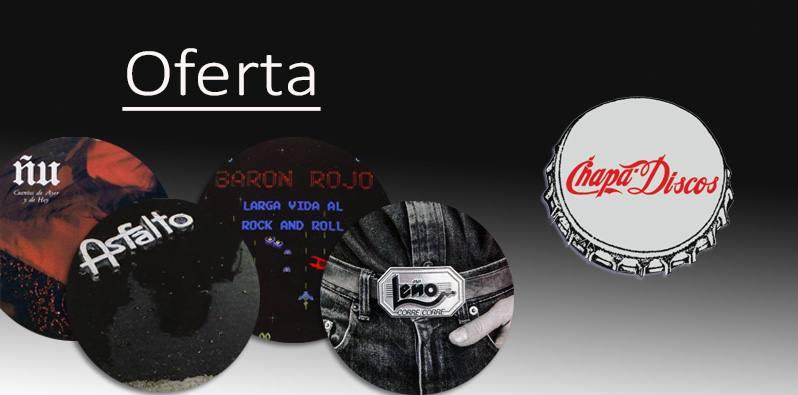 Chapa Discos. El legendario sello en oferta