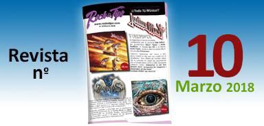 Revista nº10 Marzo 2018. Toda la información de tu tienda de música