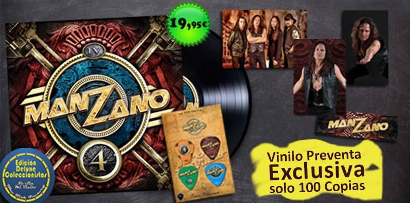 """Manzano """"4"""" Vinilo 12"""". Preventa en exclusiva. Sólo 100 primeras copias"""