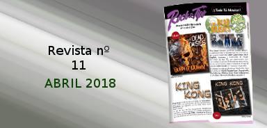 Revista nº11 Abril 2018. Toda la información de tu tienda de música